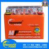 Batería sellada recargable respetuosa del medio ambiente de la motocicleta del gel de la frecuencia intermedia 12V 4ah