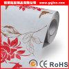 Papel pintado del hotel/PVC movido hacia atrás tela incombustible Wallcovering del papel pintado