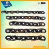 Alta resistencia a la tracción galvanizada G80 soldada cadena metálica negra del acoplamiento