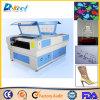 El cuero de acrílico del grabador del cortador del laser del CO2 de la calidad 100W hace precio a mano