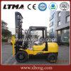Forklift manual Diesel agradável da cor 3ton com altura de levantamento de 4.5m