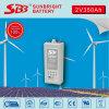 Larga vida profunda de la batería del gel de Opzv 2V350ah Cyle