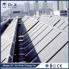 Projeto solar do coletor da água quente de placa lisa