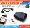 Perseguidor de diagnóstico de Obdii OBD2 GPS del coche del perseguidor del OBD GPS/GPRS/SMS