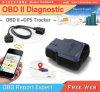 Traqueur diagnostique d'Obdii OBD2 GPS de véhicule de traqueur d'OBD GPS/GPRS/SMS