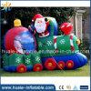 Напольное раздувное рождество поезда, раздувные продукты рождества