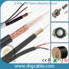 Coaxiale Kabels van het Toezicht van mil de Standaard Video2.5c-2V Rg59 Mini overhalen