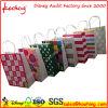 Les achats blancs de Papier d'emballage traitent des sacs de cadeau d'usager