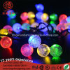 Cor Changed Outddor LED quente branco LED bola Decaration String Light