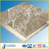 Panneau en aluminium composé en pierre foncé/léger d'Emperador de nid d'abeilles