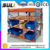 Rack de palete de caixa de armazenamento com pista de rolamento
