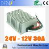C.C. abaixadora impermeável ao regulador 24V do conversor de C.C. à fonte de alimentação do carro de 12V 30A 360W