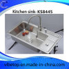 De professionele Gootsteen van de Keuken van het Roestvrij staal van de Fabrikant (KS8445)
