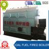 Caldaia infornata energia pulita industriale del carbone della griglia della catena del tubo di fuoco