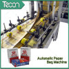 Kraft automática bolsa de papel que hace la máquina