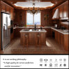 Cabinas de cocina de madera de la decoración casera (ZH-7801)