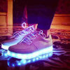 2016 New Fashion USB Charge LED Shoes
