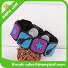 Kundenspezifisches bunter Plastik-PVC-Gummiarmband-Band