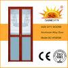 Portelli di vetro di alluminio di getto d'acqua di buona qualità (SC-AAD056)