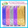 Exemplo de galvanização de Phoenix TPU do incêndio da marca do laser para o iPhone 7/6s/6