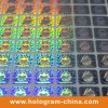 Anti-Fake 2D 3D su ordinazione Pet Holographic Sticker
