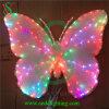 Luz bonita de suspensão da borboleta do diodo emissor de luz para a decoração da árvore