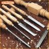 De Beitel van de Draaibank van het houtsnijwerk voor de Hulpmiddelen van de Hand en het Draaien van de Houtbewerking Hulpmiddelen wordt voor Machine worden gebruikt geplaatst die