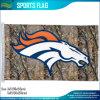 Drapeau de x5 de l'équipe de football 3 de Denver Broncos Realtree NFL de polyester '