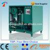 na unidade de filtração do óleo do transformador do desperdício do uso do local
