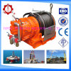 Marine Cable Log와 유전 (JQHS100*12)를 위한 공기 Cylinder Brake Fast Speed 10t Mine Winch