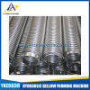 Tipo soldado tubo acanalado flexible del acero inoxidable
