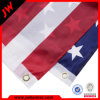 Bandera de encargo de la mano del PVC del PE del poliester del papel del país de la promoción