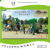 PE Plastic Slide Set e Bridge de Kaiqi Small Magic para Outdoor Playground de Children (KQ21057A)