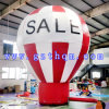 PVC Inflatable Advertizing Balloons di White e di colore rosso