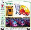 Kind-Supermarkt-Plastikeinkaufen-Spielzeug-Laufkatze