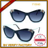 Occhiali da sole alla moda degli occhiali da sole con la decorazione (F15045)