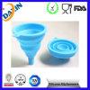 Tazón de fuente plegable del Cookware del silicón de los pescados del silicón New-Style de los tazones de fuente