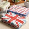 BRITISCHER Art-Nahrungsmittelzinn-Kasten