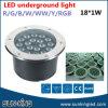 Begrabene LED Round Underground Light 18W, LED RGB in-Ground Driveway Lights mit DMX512 Control
