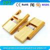 Mini mecanismo impulsor de madera del flash del USB de la insignia del disco de encargo de la memoria (EW0113)