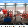 Bloque de cemento hidráulico automático Qt6-15 que hace la máquina del ladrillo de la piedra de pavimentación