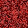 Tessuto di seta su ordinazione diretto della stampa 100% di Digitahi della fabbrica (KQC-0041)