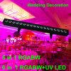 Decoração interna do banquete de casamento de Rgabw 5in1 da arruela da parede de Whosale