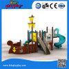 Manufatura profissional do campo de jogos crianças da função de China na série ao ar livre do equipamento de esportes da corrediça do brinquedo das multi