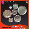 رخيصة معدن قصدير عالة علامة تجاريّة لوحة مستديرة زرّ شامة