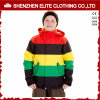 Зима одевает цветастую куртку лыжи на зима детей (ELTSNBJI-60)