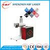 Borne portative de laser de fibre d'économie de l'espace de code à barres et de codage numérique