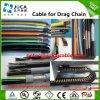 De haute résistance au dépliement de la chaîne flexible de frottement de câble de PVC
