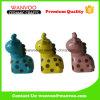Decoración de cerámica de la casa del diseño animal colorido de la dimensión de una variable para el dinero del ahorro