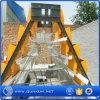 El sistema/el silo que introducen del pollo de las aves de corral para el almacenaje del grano/imita el silo de Brock